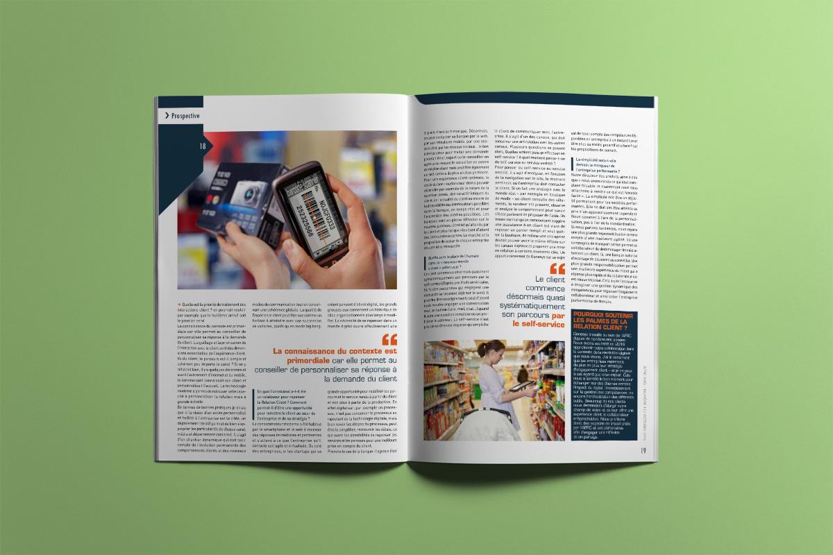 Création Graphique Magazine AFRC Mag