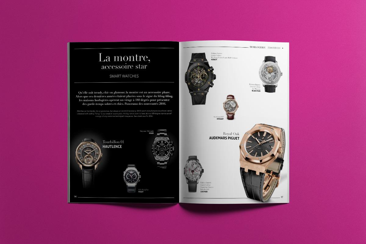Création Graphique Keller & Joseph Beach Magazine