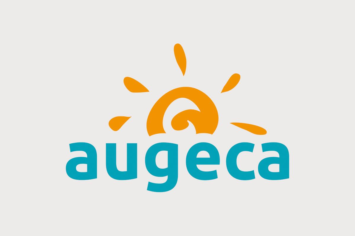 Création graphique logo Augeca