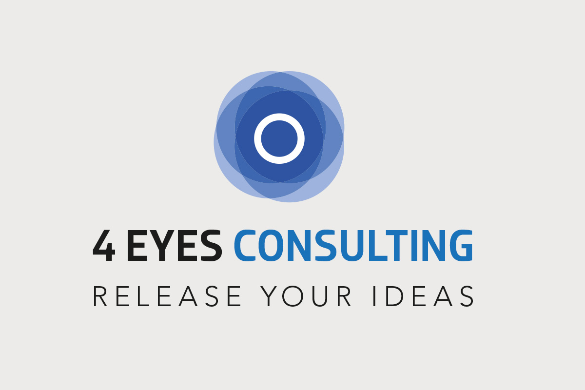 Création Logo 4 Eyes Consulting