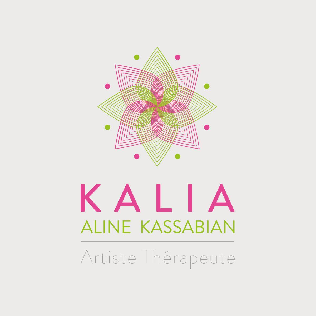 Création graphique logo Kalia
