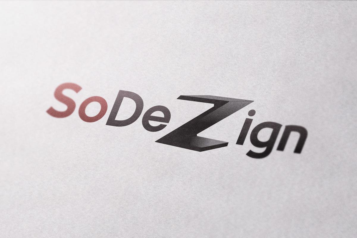 Création graphique logo Sodezign
