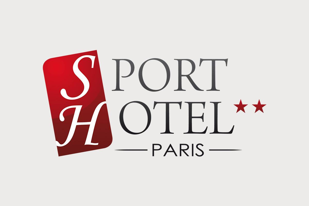 Création graphique logo Sport Hôtel