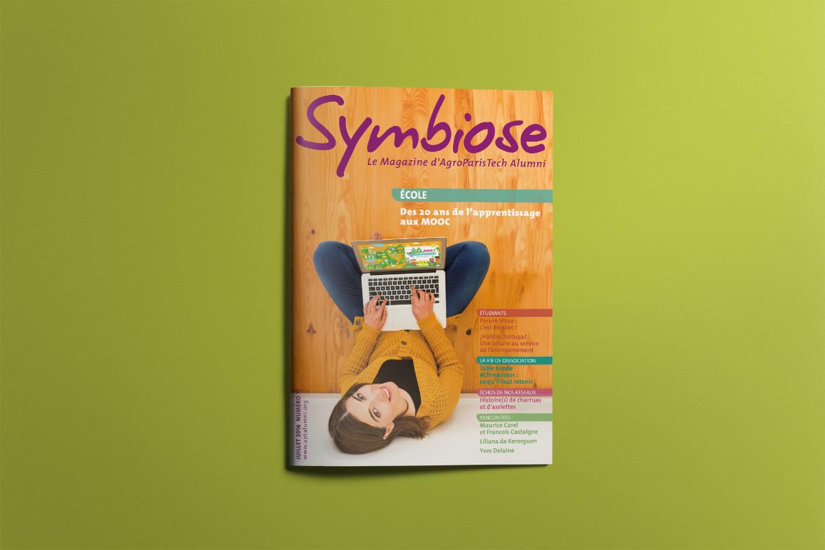 Création Graphique Magazine Symbiose