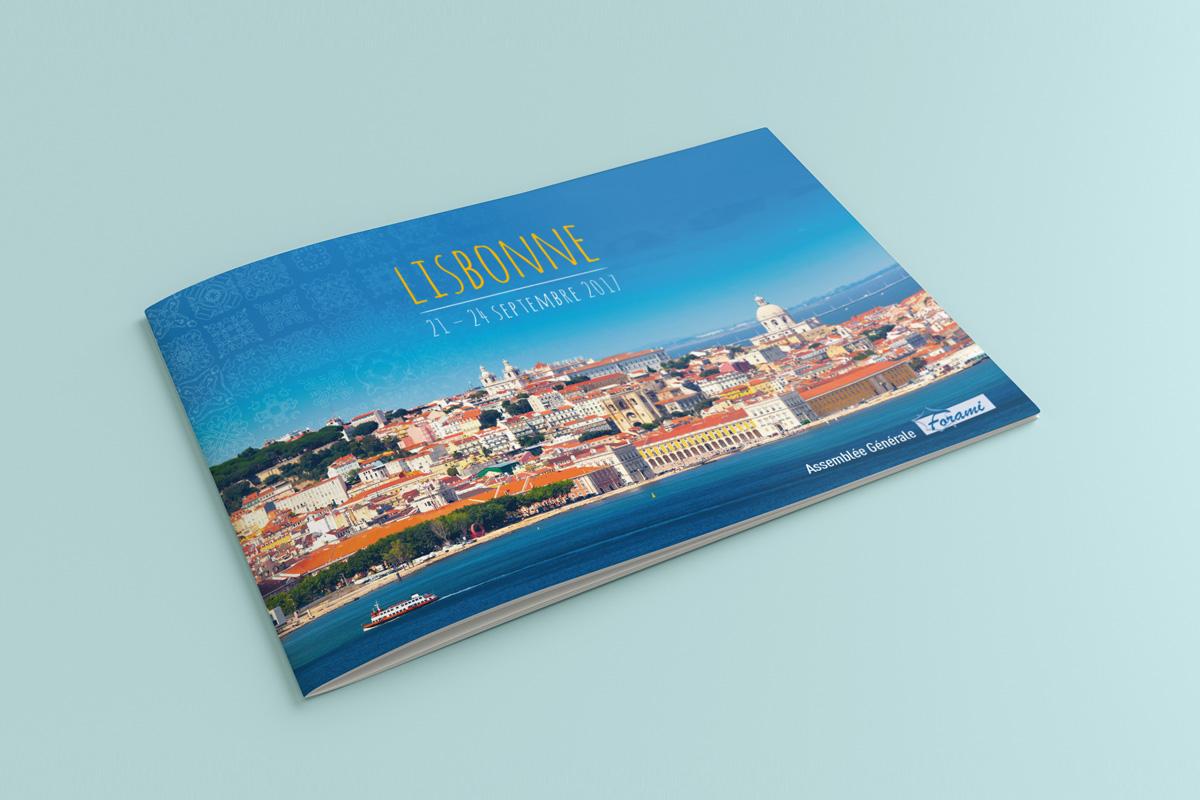 Création graphique brochure Bytheway Travel