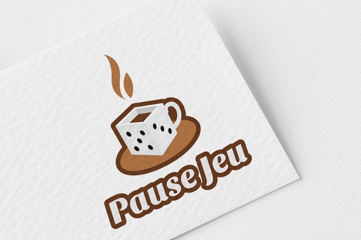 Création graphique logo Pause Jeu